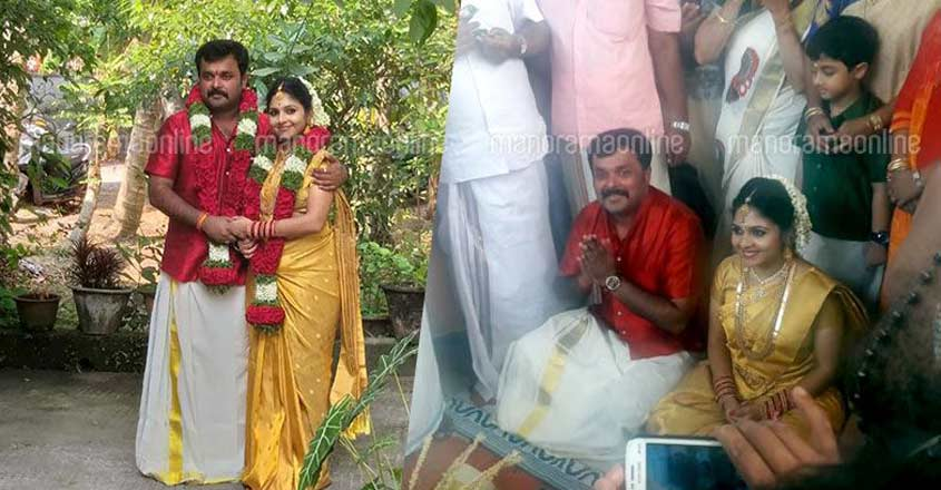 TV actors Jayan Adityan, Ambili Devi tie the knot