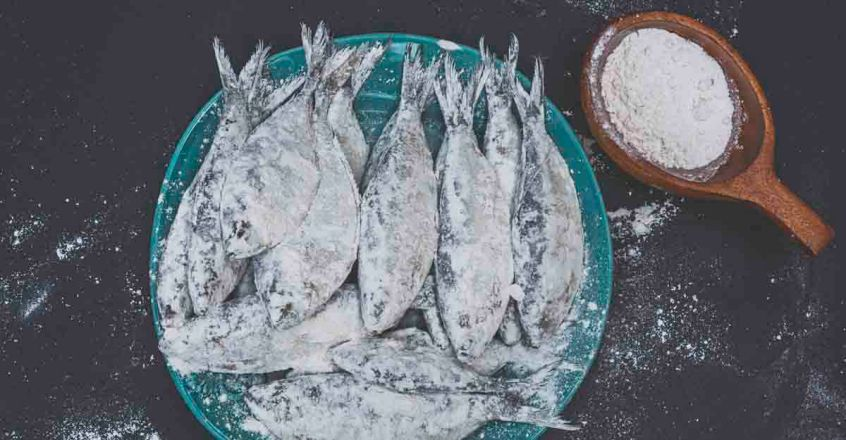 fish and flour