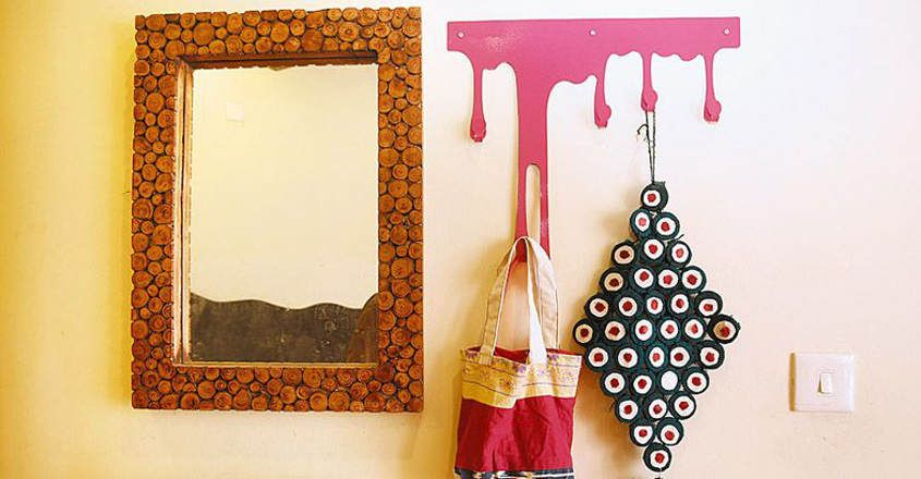 Place mirror as per vastu and note the effect