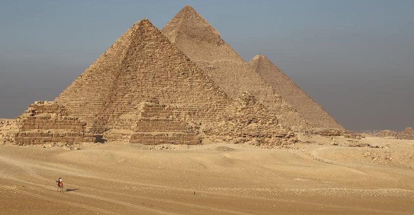 Egypt fumigates pyramids to prevent spread of coronavirus