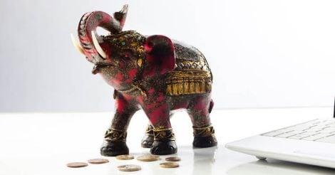 Feng shui elephant