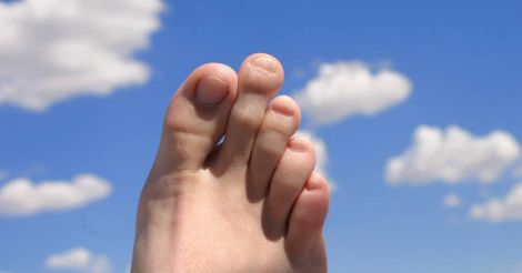 second-toe