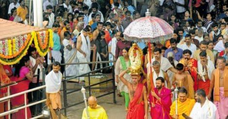 കൊല്ലൂർ മൂകാംബികാ ക്ഷേത്രം