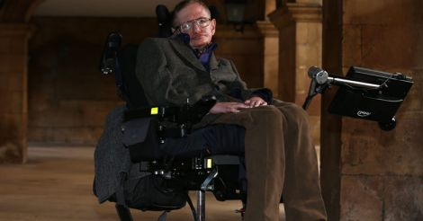 BRITAIN-ENTERTAINMENT-FILM-SCIENCE-PEOPLE-HAWKING