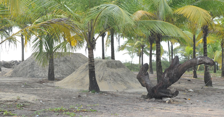 Aalappad sand mining