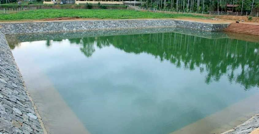 Chennamangallur pond