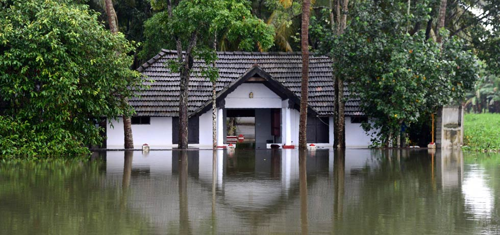 Heavy rains wreak havoc across Kerala