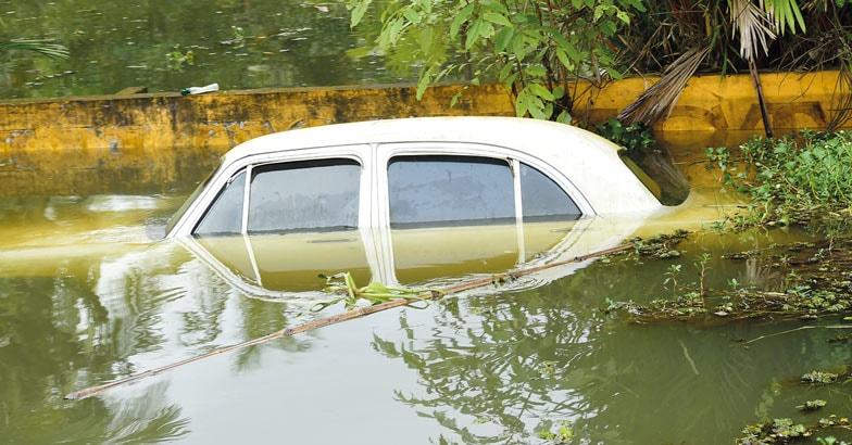 car-flood