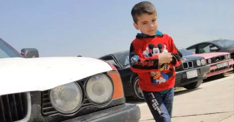 iraq-boy-bmw