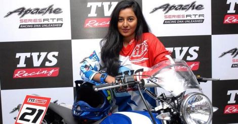shreya-iyer-tvs-racing