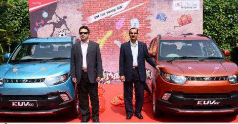 mahindra-kuv-100-kerala-launch