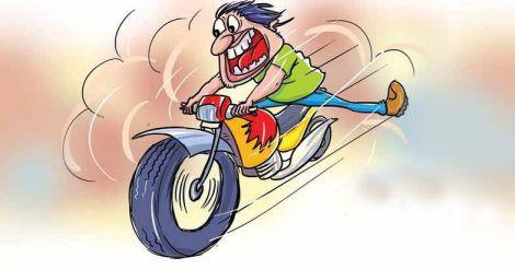speeding-bike