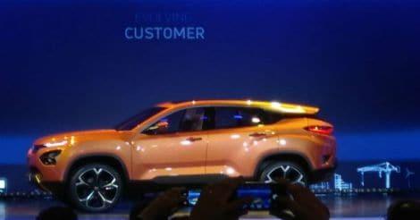 New Tata H5X SUV