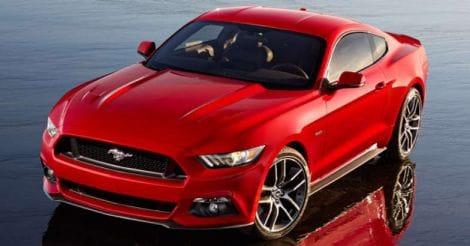 Ford Mustang RHD