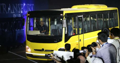 Bharat Benz Bus Production