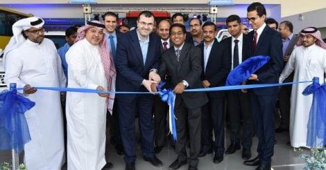 Tata Motors inaugurates First Showroom at Riyadh