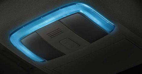Icy Blue Lounge lighting