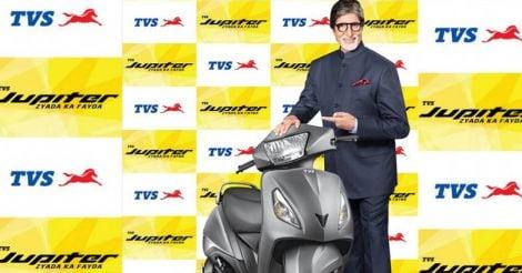Amitabh Bachchan is new Brand Ambassador for TVS Jupiter
