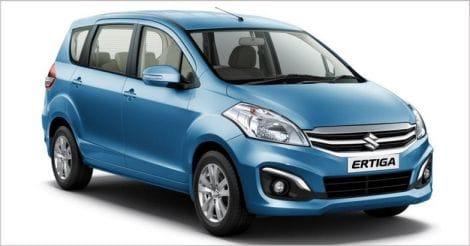 Maruti Suzuki launches refreshed Ertiga