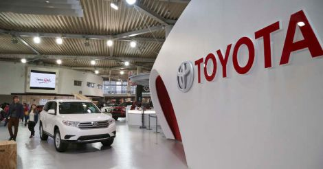 Toyota at top in global vehicle sales again