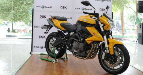 Benelli TNT 600i Gold Limited Edition