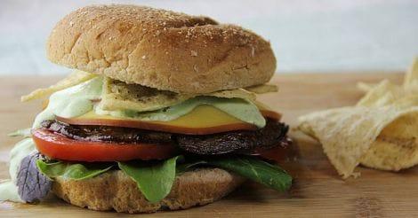 Healthy Portobello Burgers