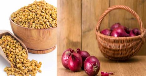 fenugreek-onion