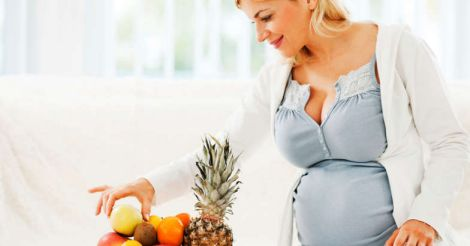 pregnancy-fruits
