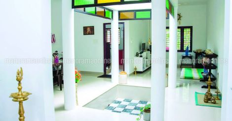 20 lakh home 1250sqft courtyard