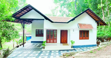 1250sqft home for 20 lakhs kerala plan