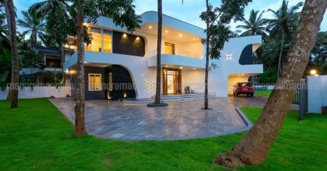 futuristic-house-kodiyeri-elevation
