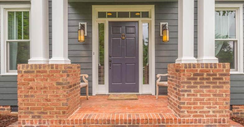 Purple-front-door