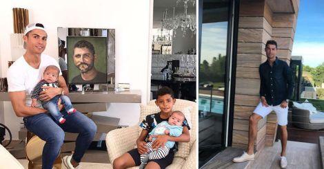 ronaldo-family