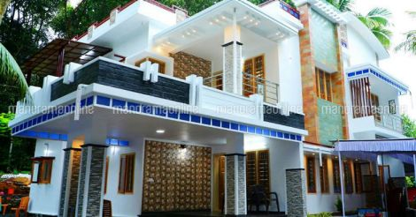 Front Elevation moreover Fusion Home In Kerala also indianhomedesign likewise Kerala Homes Design as well Watch. on veedu elevation