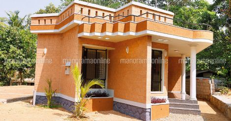 low cost house interlock soil home for 14 lakhs