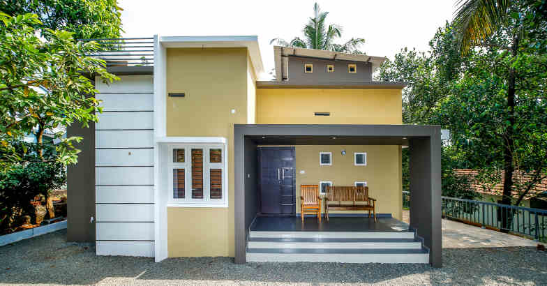 12 Lakhs Budget House Plans In Kerala