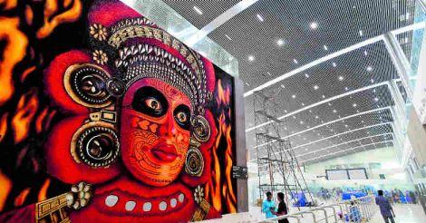 kannur-airport-grafiti