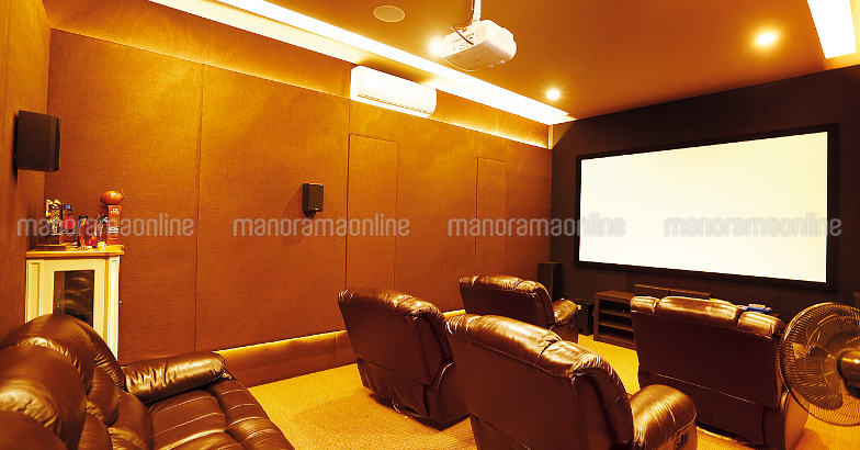 joju-george-house-home-theatre