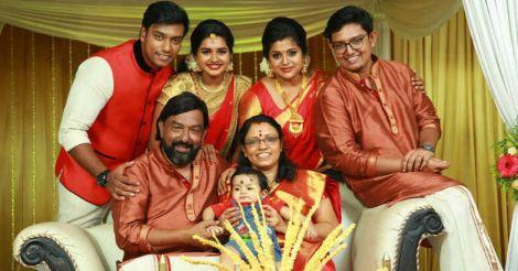 veena-nair-family