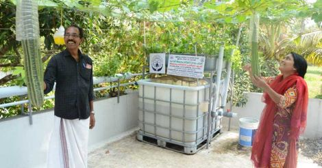 dileep-deepa-with-aquaponics-unit