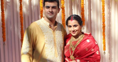 Vidhya Balan with her husband Sidharth Roy Kapoor