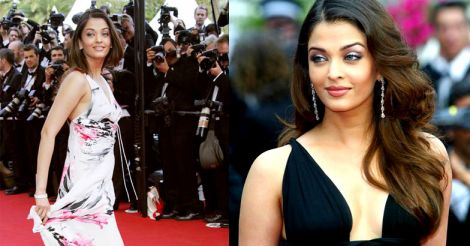 Aiswarya Rai in 2005 Cannes