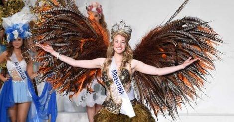 Miss International national dress