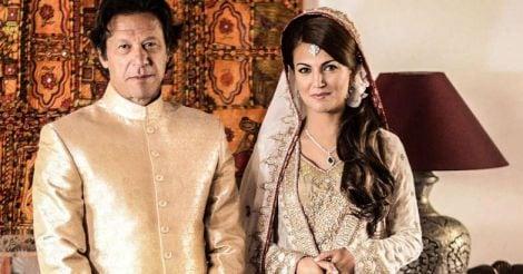 imran khan with reham khan