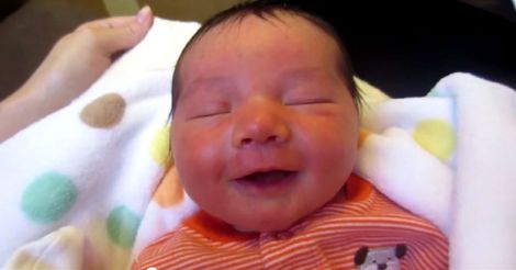 Baby Smiling