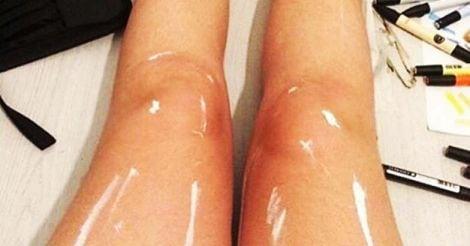 shiny-leg