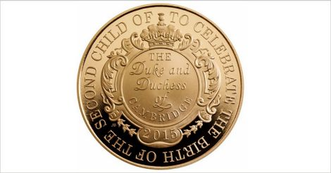 commemorative coin-to charlotte's birthday