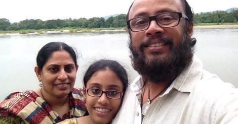 Laljose with Family