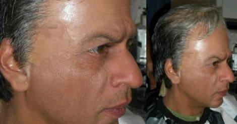sharukh-bald