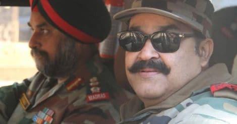 mohanlal-army